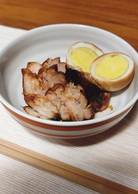 ボーンブロスの炊飯器で簡単角煮☆
