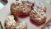 発酵レモンのココナッツクッキーの写真