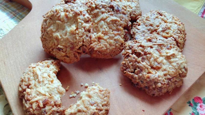 発酵レモンのココナッツクッキー
