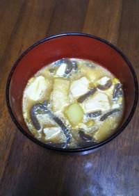 納豆汁(にんにく唐辛子入り)