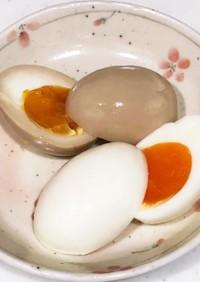 固茹ででも半熟でも、ちょっとで味卵