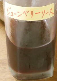ジューンベリーの濃縮ジュース