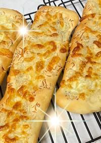 超★簡単成形!チーズたっぷり!じゃこパン