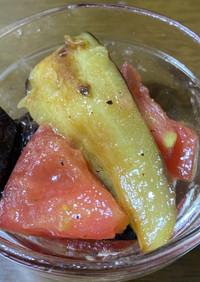 さっぱり!焼き茄子のトマトマリネ