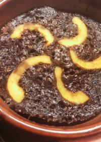 オートミールケーキ(カカオとバナナ)
