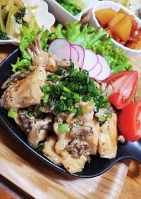 鶏むね肉と舞茸のやみつきハニーマスタード