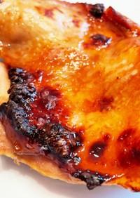 レンジで簡単、基本の鶏もも肉の照り焼き
