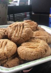 本場の味!簡単ピーナッツバタークッキー