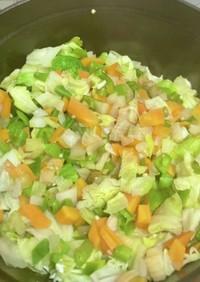 ストウブで離乳食&幼児食の野菜ストック
