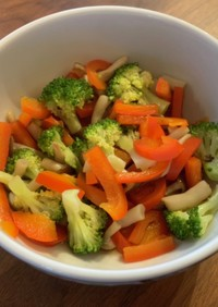 彩り野菜の中華和え