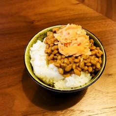 水戸の食卓より♪シャケ納豆