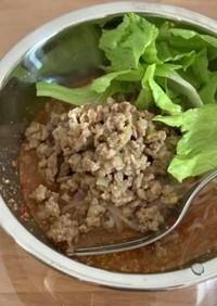 糸蒟蒻で作る簡単ダイエット坦々麺