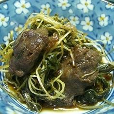♡水菜の煮物♡