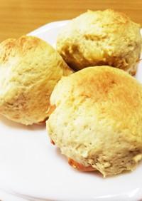 コストコのディナーロールで簡単メロンパン