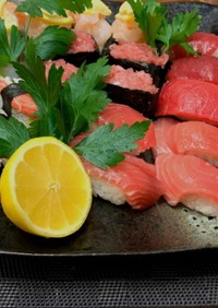 お好きな具材でお手軽お寿司