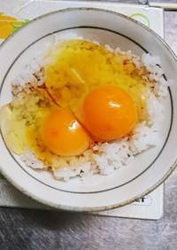 がっつり混ぜる派の卵かけご飯