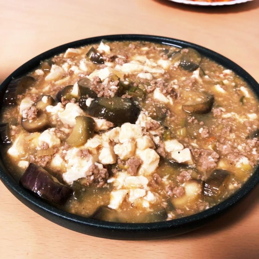簡単麻婆豆腐(麻婆茄子)