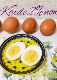 水から茹でる!つるんと剥ける魔法の茹で卵