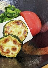 夏野菜冷やっこ