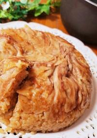 炊飯器でマクルーバ風豚丼ケーキ