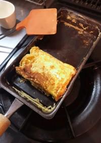 お手軽な卵焼き