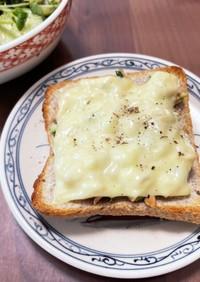 チーズとろり☆ツナのオープンサンド