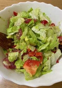 アボカドと鮪のおつまみサラダ