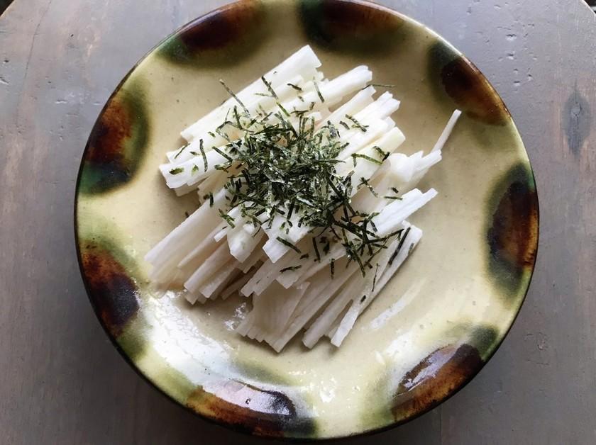 長芋の千切り方法