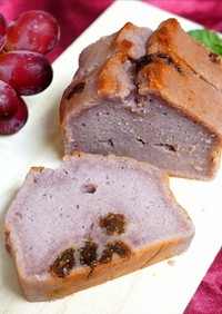 米粉の赤ワインパウンドケーキ