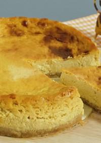 モッツァレラで☆濃厚チーズケーキ