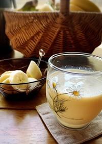 バナナとエキナセアのサワーミルク