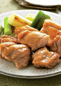 あわせ酢の鶏の照り焼き