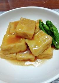 高野豆腐のオランダ煮