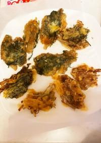 エノキとチーズのカリカリ焼き