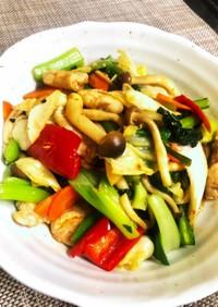 簡単!たっぷり野菜の回鍋肉