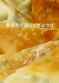 野菜たっぷり餃子(覚書)