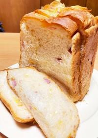 HBでベーコンチーズ食パン