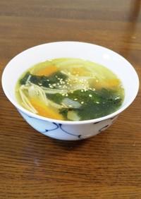 15分で2品♪茹で鶏&ワカメスープ