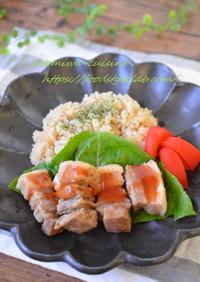 炊飯器ひとつで★旨味ご飯と豚肉の酢豚風