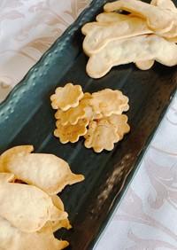 犬用米粉クッキー(干し芋リメイク)