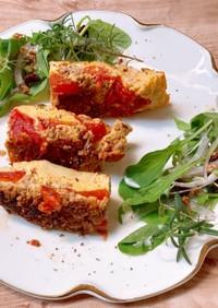 デリ風!トマトのスパニッシュオムレツ