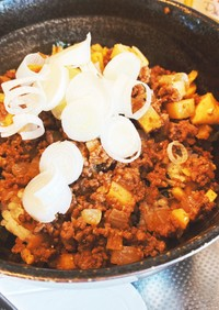 韓国風肉味噌丼