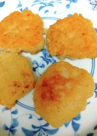 白玉粉入り山芋、豆腐揚げ餅