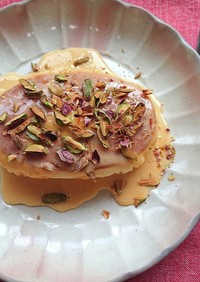 北海道チーズ蒸しケーキで高級デザート