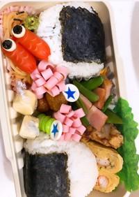鯉のぼり弁当  キャラ弁