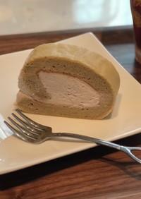 こしあんロールケーキ