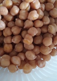 吸水なし圧力鍋でひよこ豆