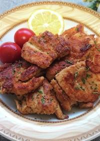 高野豆腐衣で鶏胸肉の唐揚げ(ダイエット)