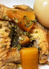 手羽先と大根&卵の煮物❁