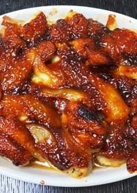 鶏肉の甘みそ焼き